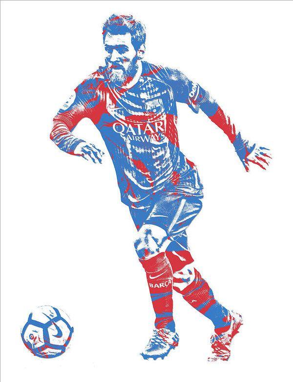 Lionel Messi F C Barcelona Argentina Pixel Art 1 Art Print By Joe Hamilton In 2021 Pixel Art Lionel Messi Lionel