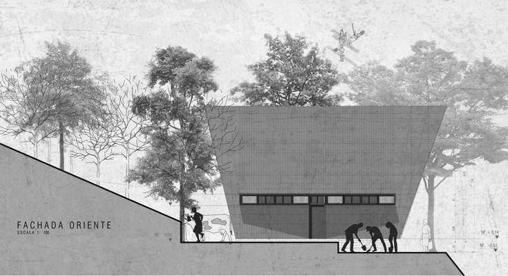 Galería de Vivienda Social Rural / Estación Espacial Arquitectos - 28