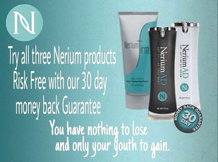 Nerium ad safe for all skin care types clinically proven for real results or