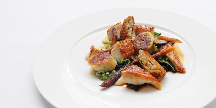 This extravagant guinea fowl recipe from top British chef Stephen Crane provides the perfect main for a winter's feast