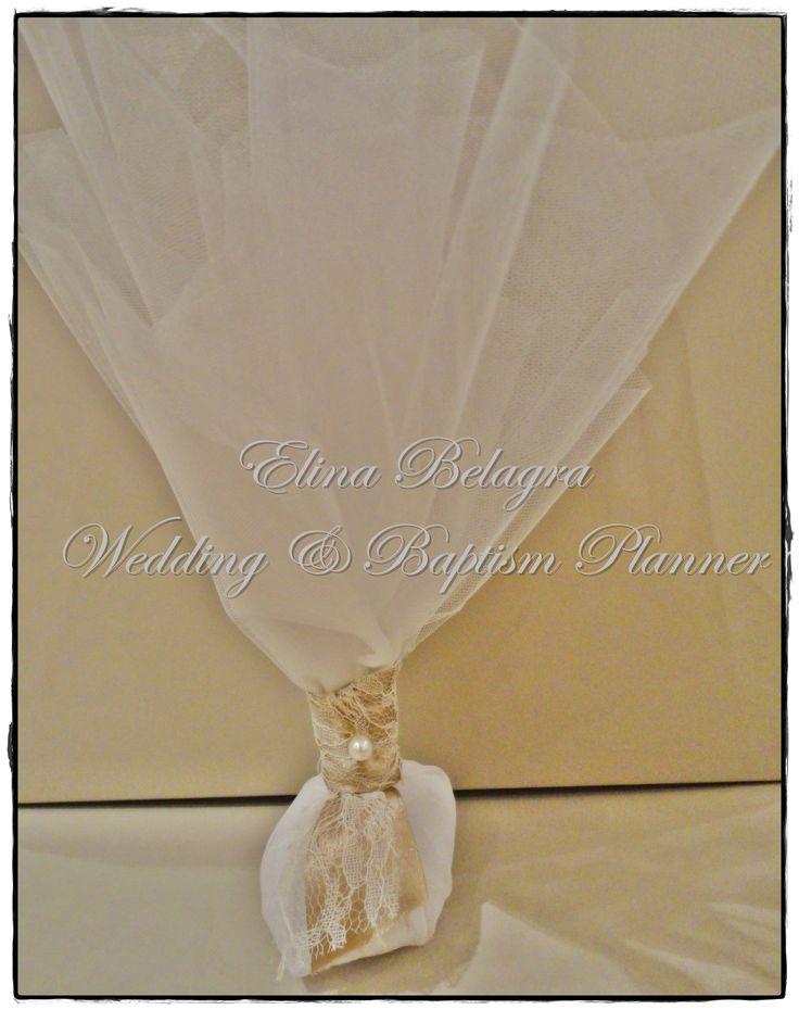 wedding#gift#comfits#mpomponiera#toule#pearl#lace#love#gamos#wedding#chicwedding#romantic#wedding#romance#vintagewedding#vintage#handmade#weddingplanner#elinabelagra#www.elinabelagra.gr Μπομπονιέρα γάμου κλασσική τούλι ύφασμα, πέρλες, δαντέλες