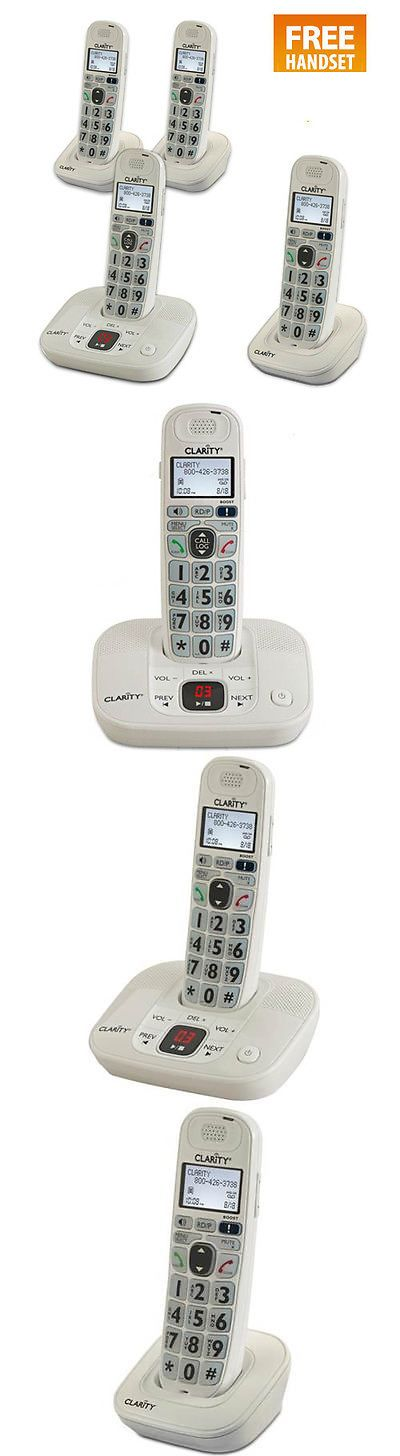 Other Home Telephones: Clarity D712-4 Clarity D712-4 Cordless Phone With Free Handset Promo -> BUY IT NOW ONLY: $138.3 on eBay!