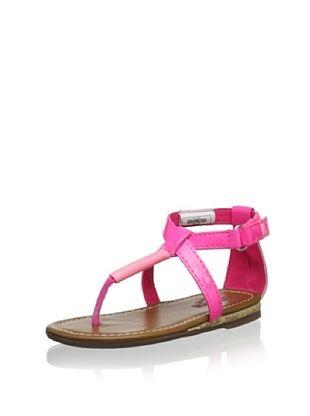 57% OFF OshKosh B'Gosh Lacey Thong Sandal (Pink)