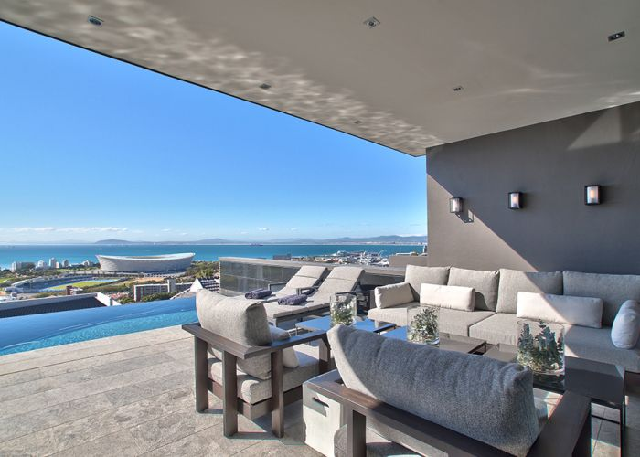 Stadium and ocean view from North - 5 bedroom villa in Green Point