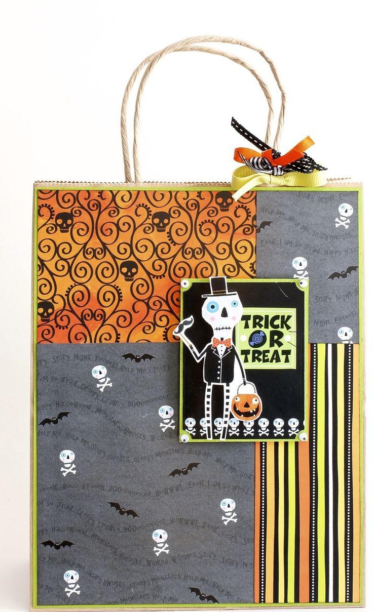 Best 20+ Halloween gift bags ideas on Pinterest | Halloween treat ...