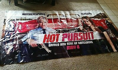 Exclusive HOT PURSUIT Movie Vinyl Poster Banner Promo 10 X 5 Feet in Entertainment Memorabilia, Movie Memorabilia, Posters | eBay