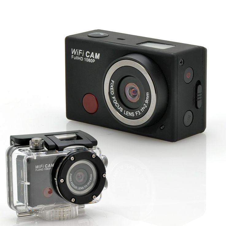 "Wi-Fi Sports Camera ""SportsCam"" - With Remote Control, Full HD 1080p, 5…"