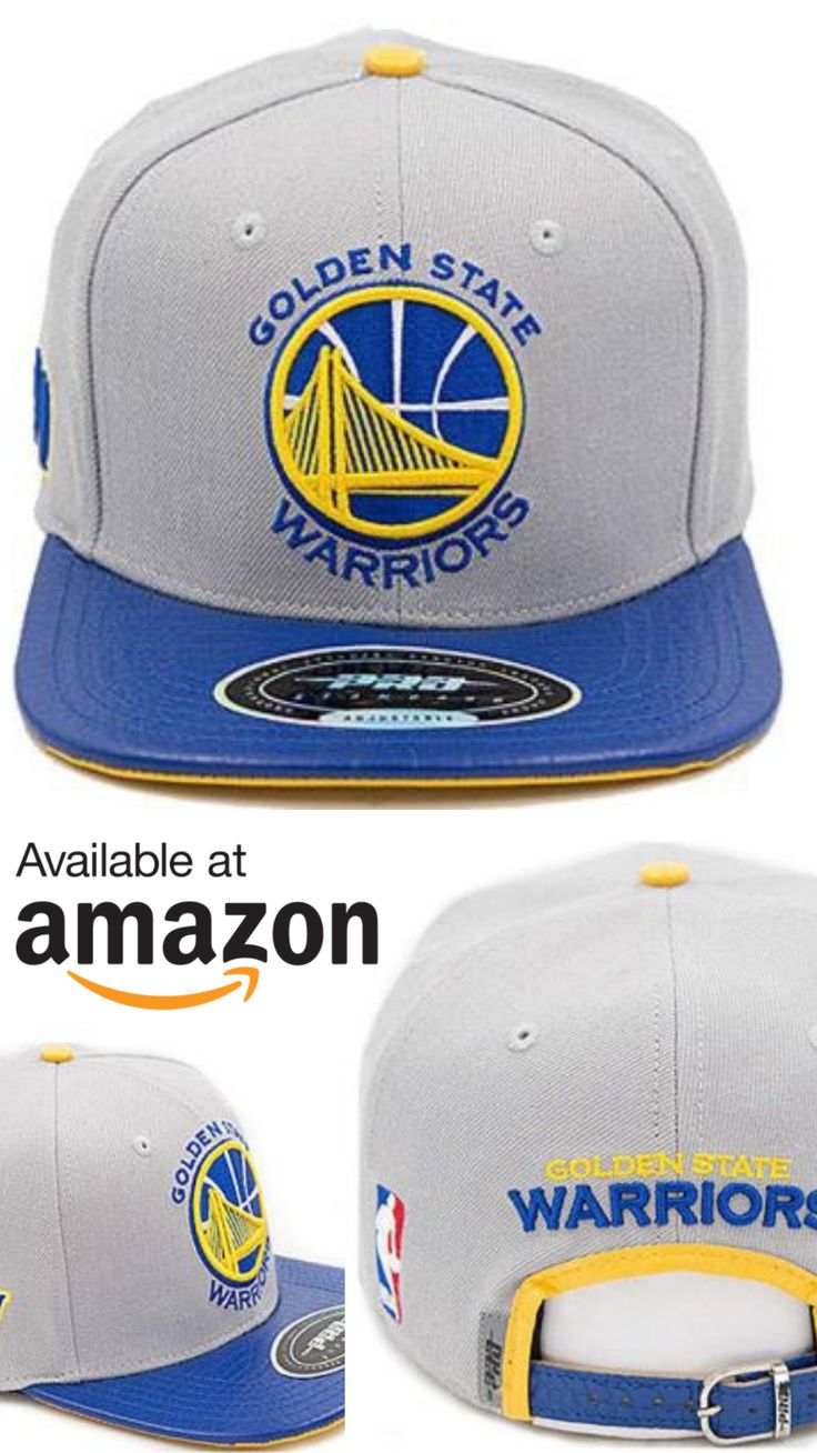 777862ba5c1 Pro Standard Men s NBA Warriors Team Logo Buckleback Hat Gray NO Pins. Made  for Dub Nation!