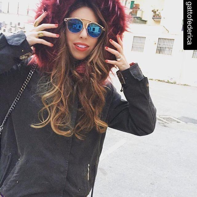 ITALOGY LIFE parka gipsy ecofur, woman, love, parka, sun