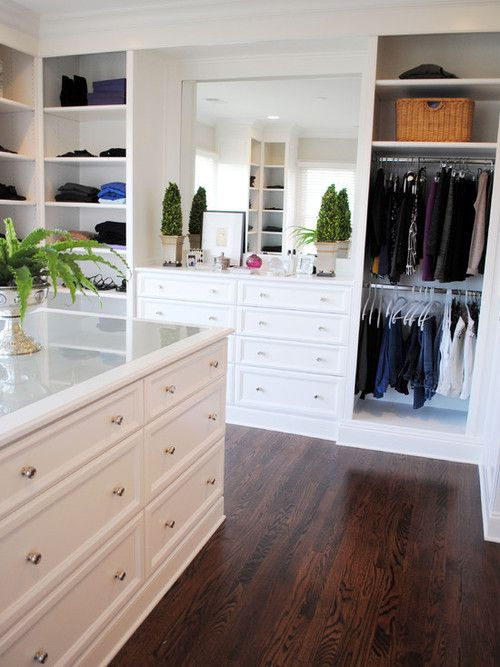 Walk In Master Closet Dressing Room Design Pinterest