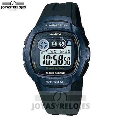 ⬆️😍✅ CASIO Quarz W-210-1BVES ✅😍⬆️ Fantástico Modelo de la Colección de Relojes Casio PRECIO 22 € Lo puedes comprar en 😍 https://www.joyasyrelojesonline.es/producto/casio-quarz-w-210-1bves-reloj-de-caballero-de-cuarzo-correa-de-resina-color-negro-con-cronometro-alarma-luz/ 😍 ¡¡Corre que vuelan!!