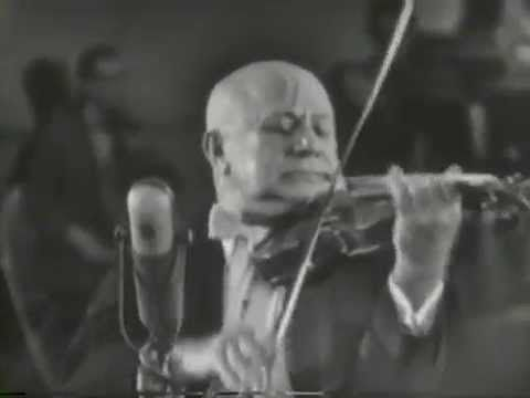 "Mischa Elman, Dvorak-Kreisler, ""Slavonic Fantasy"", 1954"