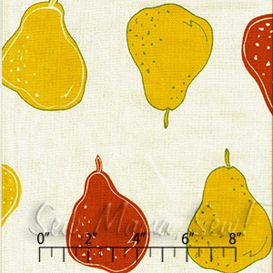Sweet Pears Natural CANVAS ~ Live Life @ #Sew,Mama,Sew!