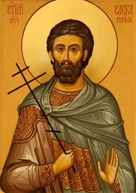 St. Sabbas the Goth (372) - April 15