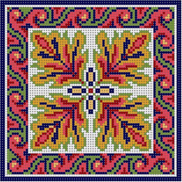 Oriental Tile 3