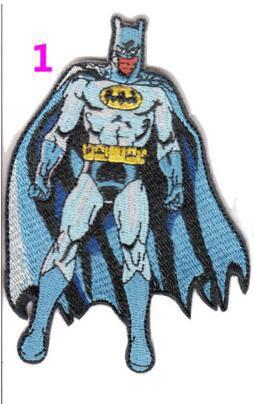 Горячая распродажа! Вышивка фильмы патчи 2016 бэтмен против супермена патчи железа на 10 x 7 см классические фильмы