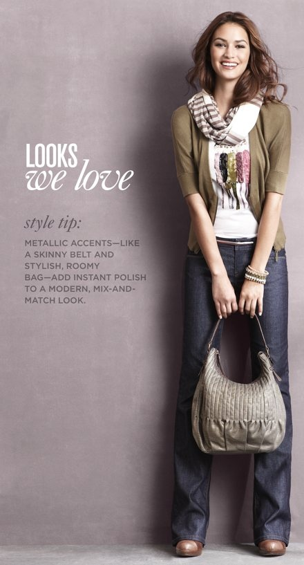 Honestly love some of LOFT's outfits. Going to totally channel this for fall :)
