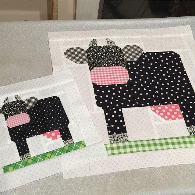 Mama And Baby Mooooooooo Cows Milkcowblock
