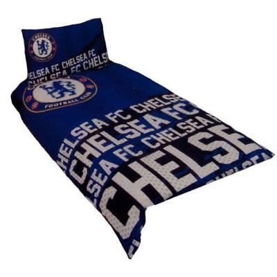 Duvet Covers and Sets 134278: Kids Chelsea F.C Single Bed Duvet Cover Set Blue Reversible Bullseye Bedding Set -> BUY IT NOW ONLY: $24.99 on eBay!