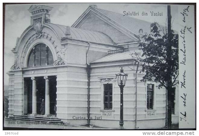 Vaslui - Curtea cu Juri - interbelica
