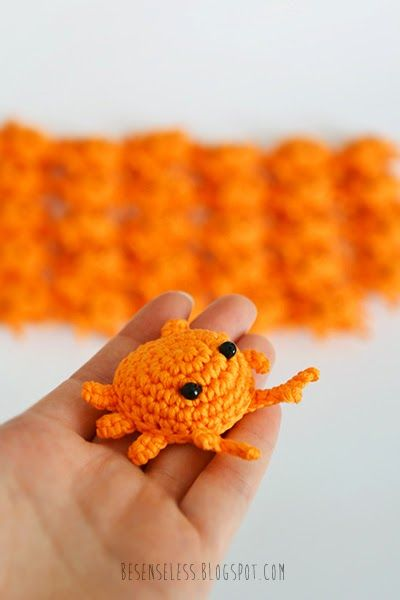 Crochet amigurumi crabs - Granchietti all'uncinetto - besenseless.blogspot.com