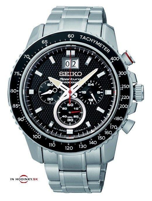 Pánske hodinky SEIKO SPC137P1 Sportura Chronograph