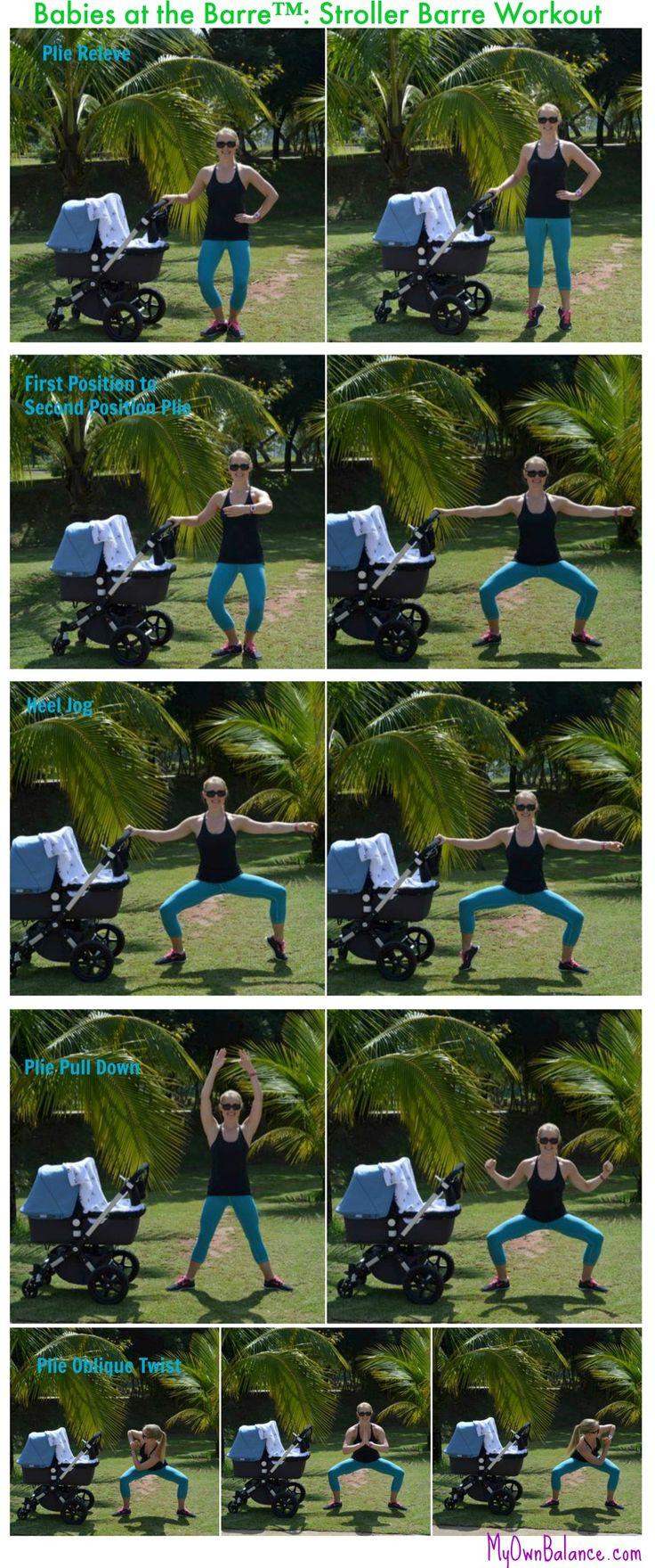 Babies at the Barre™:: stroller barre side barre