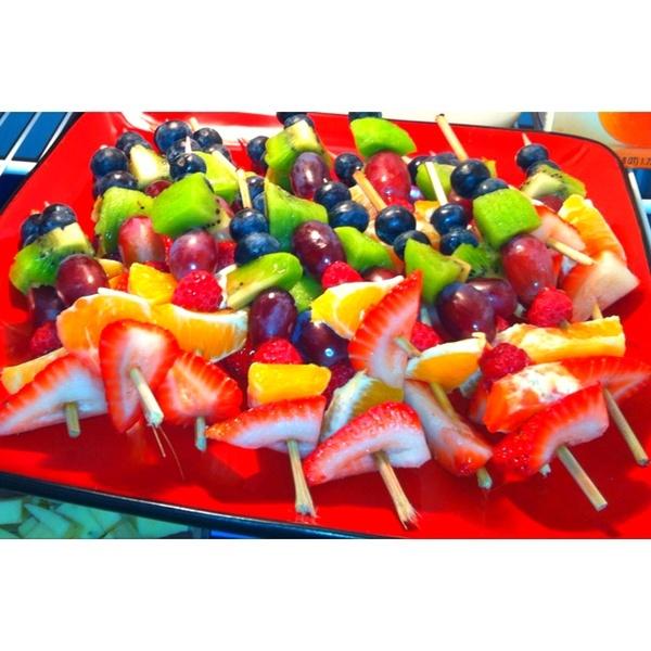 Fruit kabobs | Favorite Foods | Pinterest