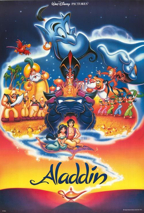 Disney used to have the best posters! I remember I had this poster as a 1,000 piece puzzle!