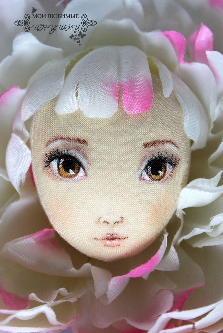 Мои любимые игрушки. Авторские текстильные куклы Анны Балябиной