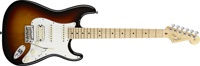 American Standard Stratocaster® HSS, Maple Fingerboard, 3-Color Sunburst