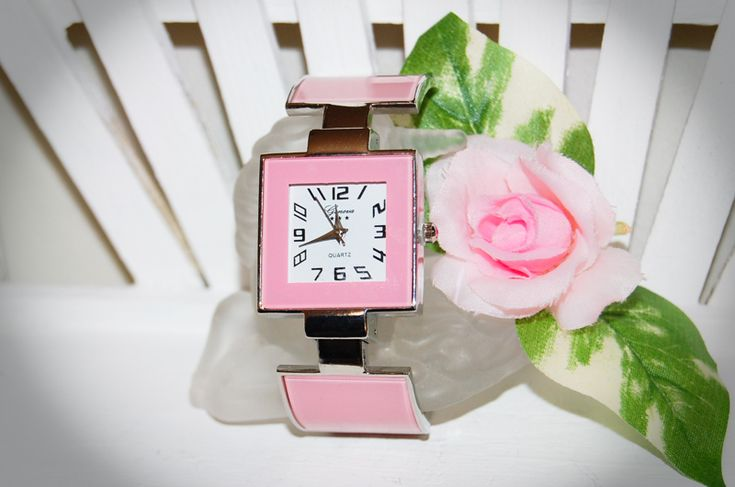 ⌚❤ Pink Bangle Watch ❤⌚