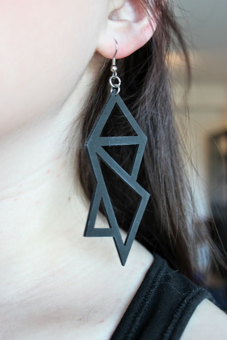 One of my favourite earrings - from Nouseva myrsky. http://sweetsweetthings.blogspot.fi/2014/05/graniittia.html