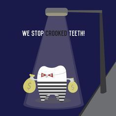 We stop crooked teeth! #orthodontics #braces