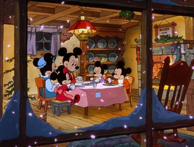 sleigh-bells-are-ringing:  daystilchristmas:  Mickey's Christmas Carol marks Mickey Mouse's return to the big screen in 1983. This ended a 30 year absence from theatrical shorts.  ❄️❄️❄️