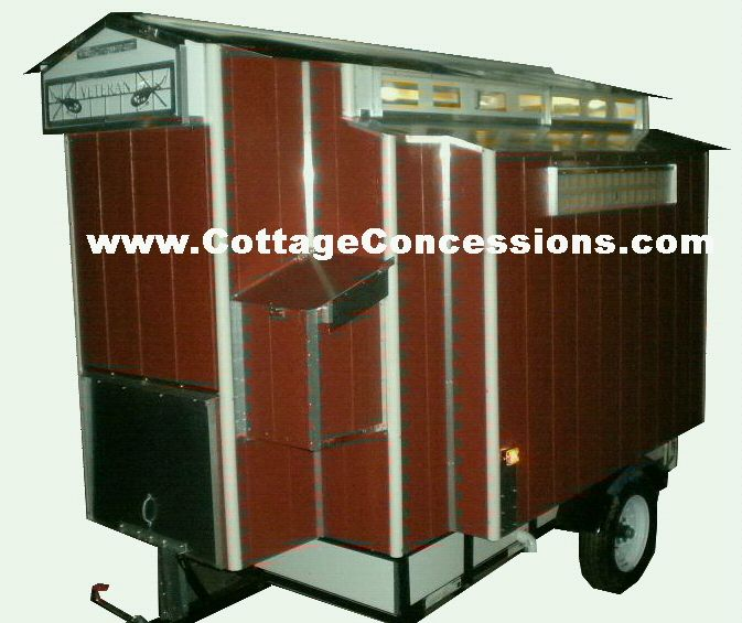 Cottage Concessions, Custom food Concession trailers for sale,shaved ice,coffee trailers for sale,espresso trailers for sale, snow cone trailer, mini donuts trailers for sale, mini donuts trailer, food trailer design, cappuccino trailers, espresso cart, coffee cart,  used food trailers for sale,