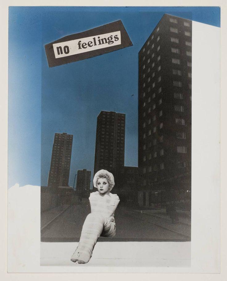 Jamie Reid 'No Feelings', 1977 © Jamie Reid, courtesy Isis Gallery, London