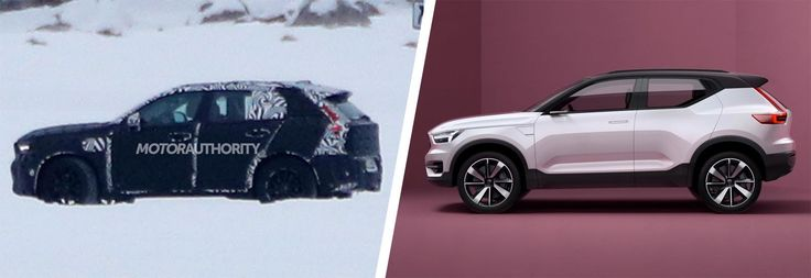 The upcoming Volvo XC40 compact SUV has been spotted winter testing. This Audi Q2 rival will be offered with a petrol-electric hybrid option
