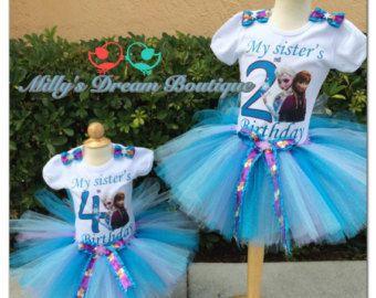 Tutu Sale 25.00 Elsa Inspired Ice Queen Tutu by camyscloset
