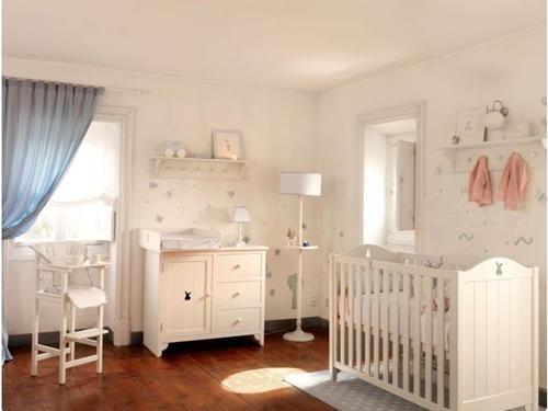 Mejores 38 imágenes de En Blanco-Habitaciones de Bebé en Pinterest ...