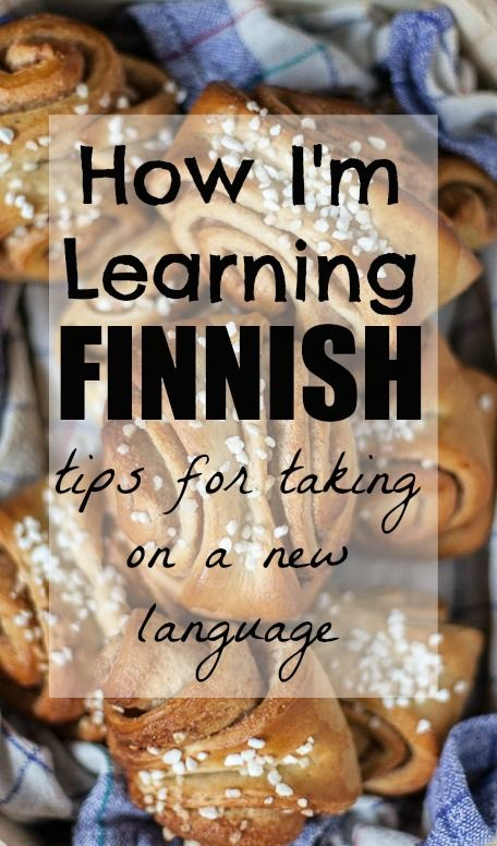 How I'm Learning Finnish - Vagabond Baker