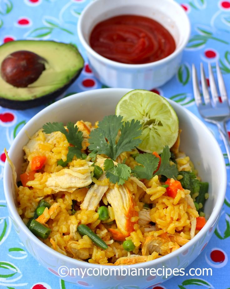 Arroz con Pollo (Colombian Chicken and Rice)