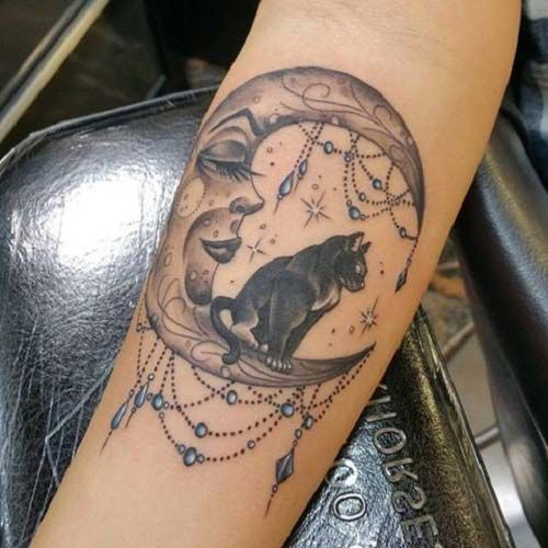 45 best ay d vmeleri moon tattoos images on pinterest moon tattoos tattoo ideas and design. Black Bedroom Furniture Sets. Home Design Ideas