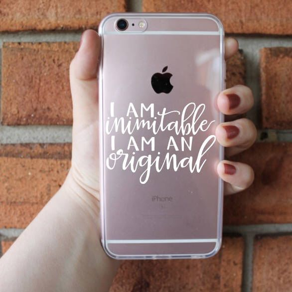 I Am Inimitable I Am An Original Phone Case | Hamilton Phone Case | iPhone Case | Galaxy Case | Southern Sweetheart Gifts by SthrnSweetheartGifts on Etsy https://www.etsy.com/listing/526223251/i-am-inimitable-i-am-an-original-phone