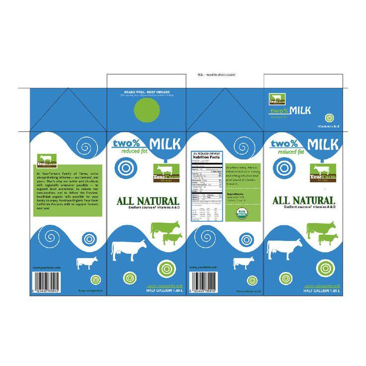 Milk Cartons Milk Cartons Wholesale Custom Printed Milk