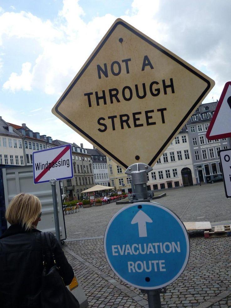 Dead end evacuation