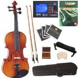 Cecilio CVN-320L Ebony Fitted Reliable Wooden Remaining-Handed Violin with Tuner and Lesson E-book, Dimensions one/4 - http://buyingmanual.com/cecilio-cvn-320l-ebony-fitted-reliable-wooden-remaining-handed-violin-with-tuner-and-lesson-e-book-dimensions-one4.html