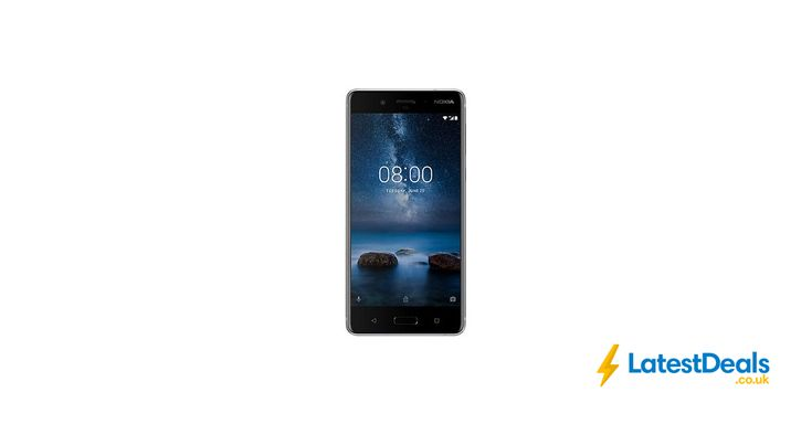 "Nokia 8 Smartphone, Android, 5.3"", 4G LTE, SIM Free, 64GB + 2 Year Guarantee, £399.95 at John Lewis"