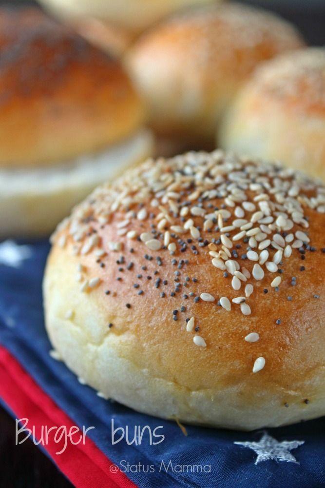 Burger buns, panini per Hamburger