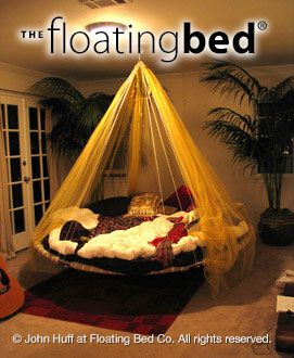 Perfect Round Bed, Hanging Daybed, Indoor Hammock Bed | The Floating Bed Co More